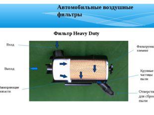 Фильтр Heavy Duty Вход Выход Завихряющие лопасти Крупные частицы пыли Фильтру