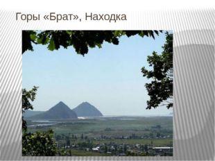 Горы «Брат», Находка