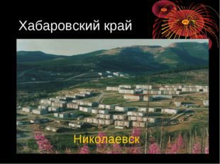 Хабаровский край Николаевск