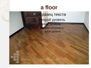 a floor