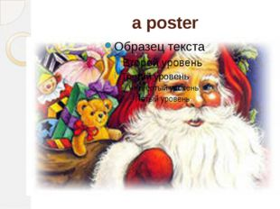 a poster