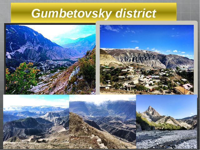 Gumbetovsky district