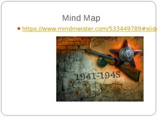 Mind Map https://www.mindmeister.com/533449789#slideshow