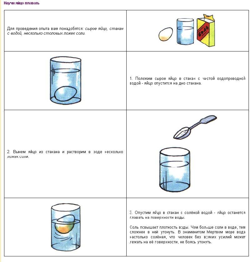 Как сделать опыты в домашних условиях 3