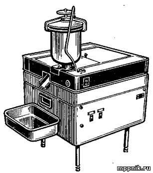 Автомат АП-ЗМ для приготовления и жарки пончиков