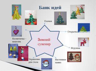 Банк идей Елочки Открытка Игрушка Настенное панно Зимний сувенир Украшение дл