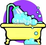 http://www.picturesof.net/_images_300/A_Yellow_Bathtub_Royalty_Free_Clipart_Picture_090804-120537-749009.jpg