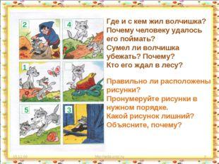 15.12.09 http://aida.ucoz.ru * Где и с кем жил волчишка? Почему человеку удал