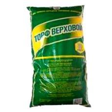 Торф верховой, 50 л Верховой торф используется в качестве мульчи, в верховом торфе нет семян сорняков, болезнетворных организмов