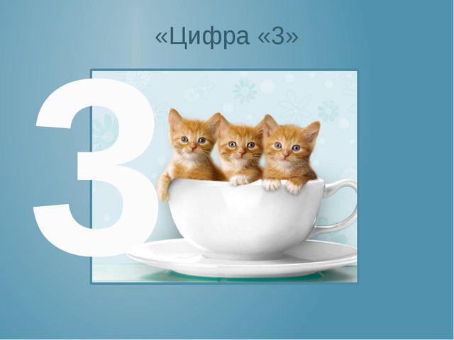 «Цифра «3» 3