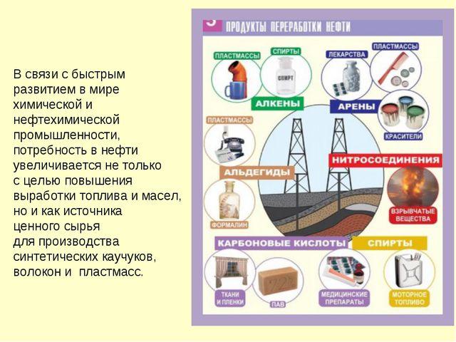 В связи с быстрым развитием в мире химической и нефтехимической промышленност...