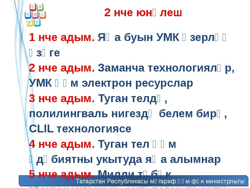 Татарстан Республикасы мәгариф һәм фән министрлыгы 2 нче юнәлеш 1 нче адым. Я...