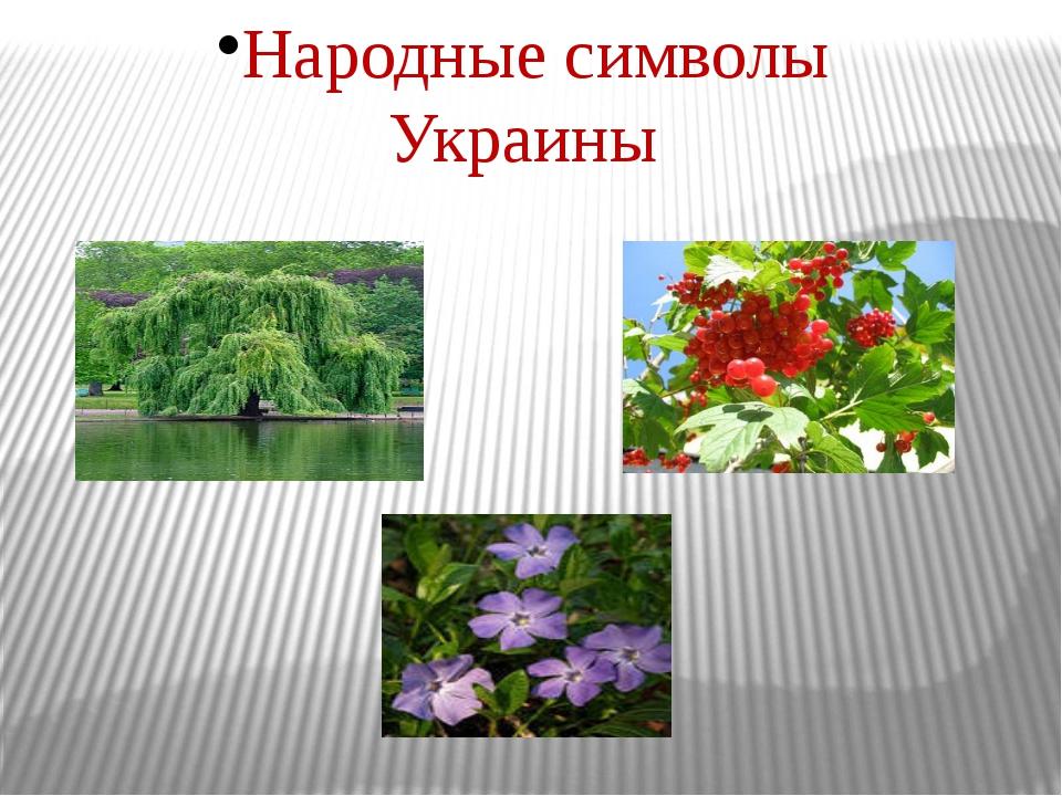 Народные символы Украины