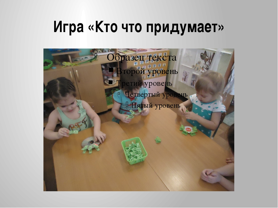 Игра «Кто что придумает»