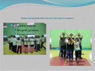 Формы организации практической деятельности учащихся