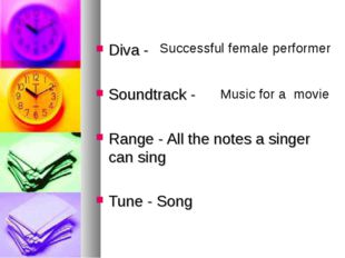 Diva - Soundtrack - Range - All the notes a singer can sing Tune - Song Succ