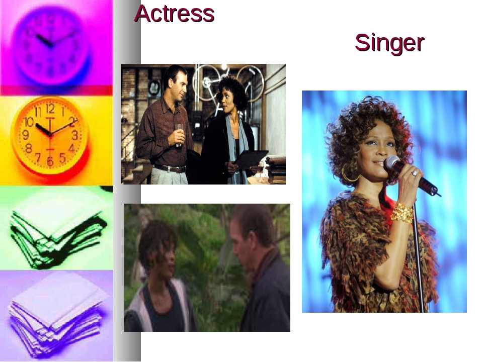 Actress Singer
