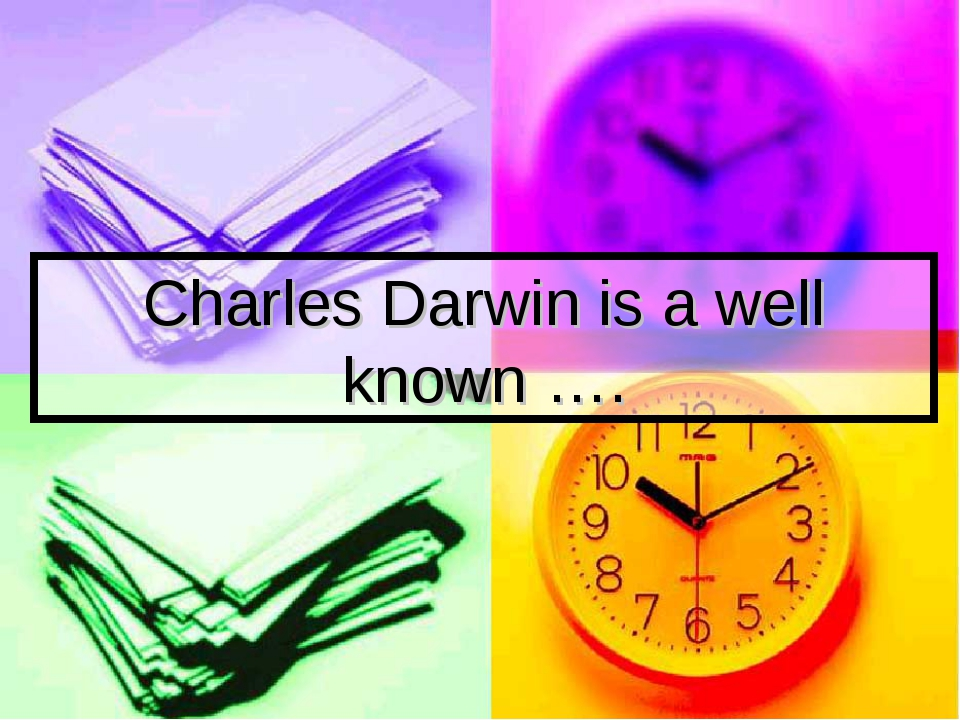 Charles Darwin is a well known ….