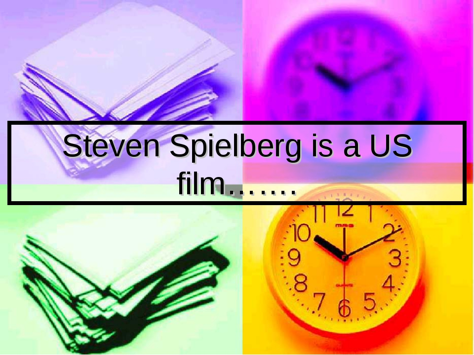Steven Spielberg is a US film…….