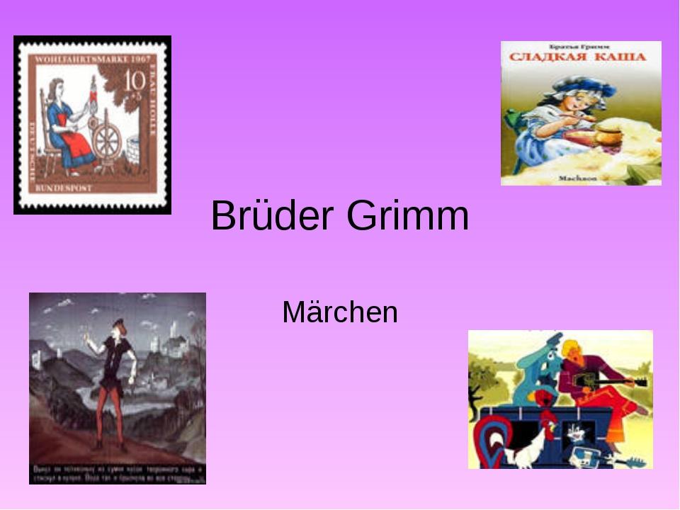 Brüder Grimm Märchen