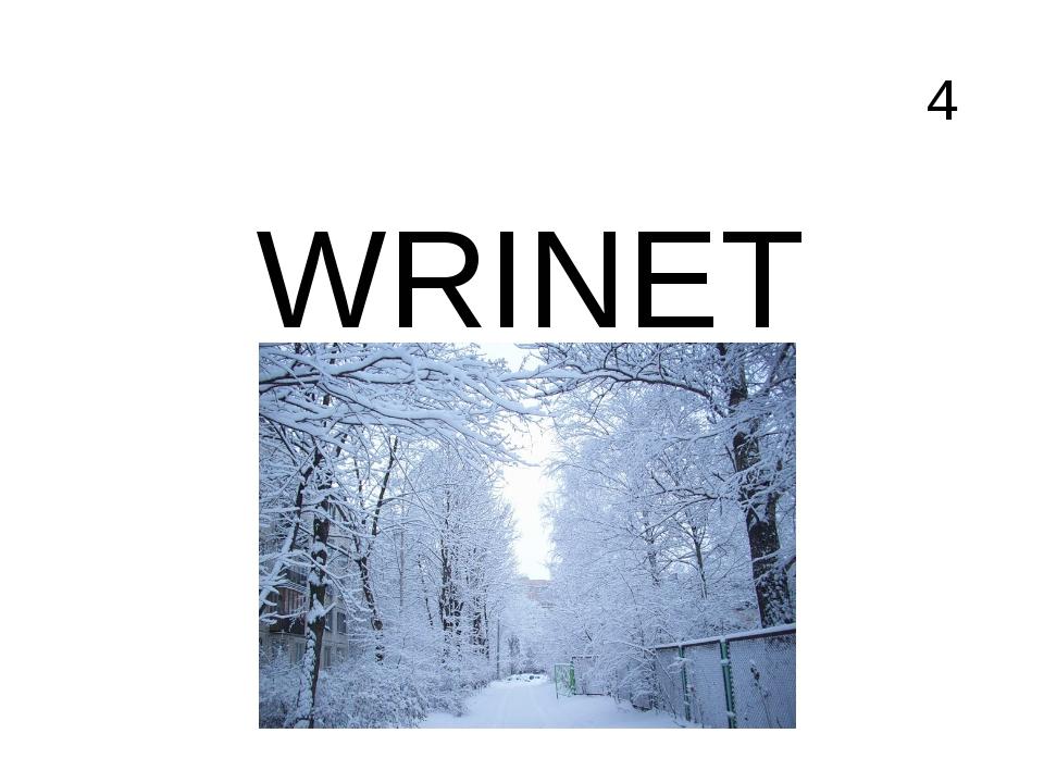 4 WRINET