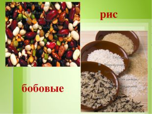 рис бобовые