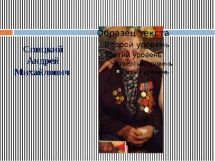 Спицкий Андрей Михайлович