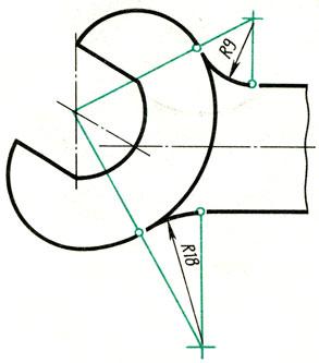 Рис. 63. Элементы сопряжений