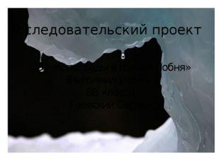 «Отчистка воды в городе Лобня» Выполнил ученик 8В класса Гаевский Сергей Иссл