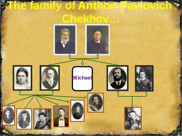 The Grandparents The writer's granddad was Egor Mikhailovich Chekhov. He was...
