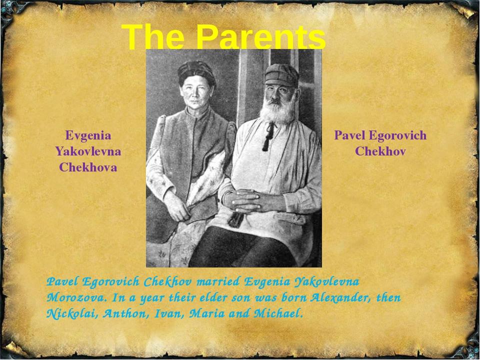 The Elder Brothers Alexander Pavlovich Chekhov Nickolai Pavlovich Chekhov Ale...