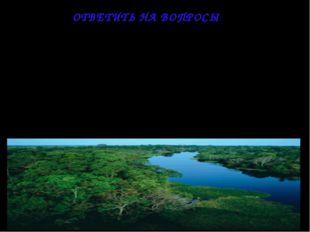 1. Чем объясняется своеобразие растительного мира тропических лесов? 2. Что т