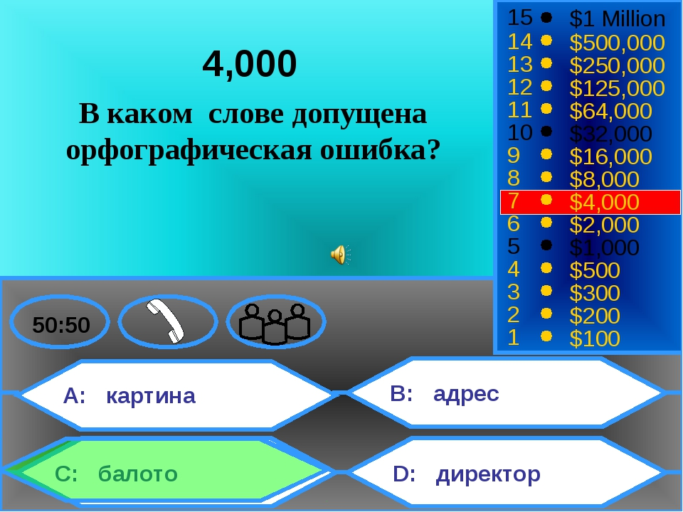 A: картина C: балото B: адрес D: директор 50:50 15 14 13 12 11 10 9 8 7 6 5 4...