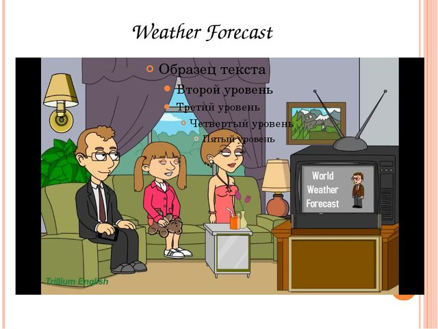 Good evening. Welcome to the world weather forecast. Let's take a look at the...