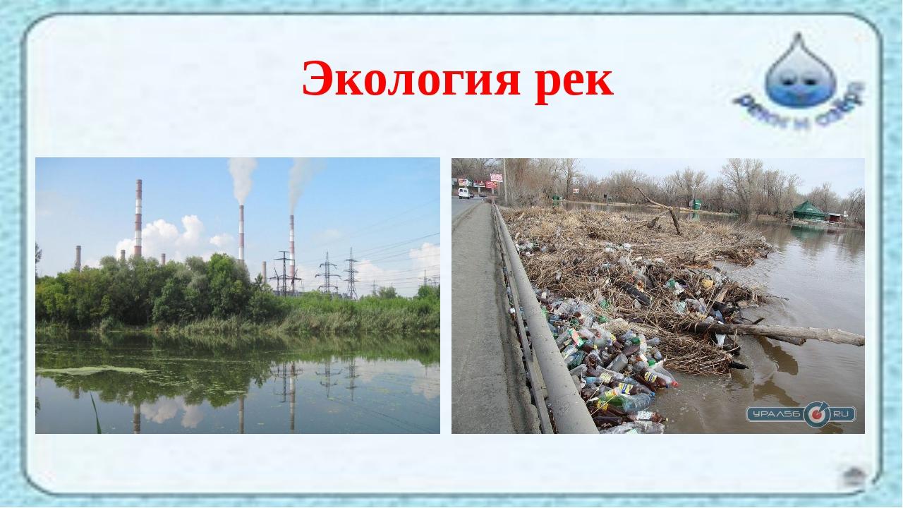 Экология рек