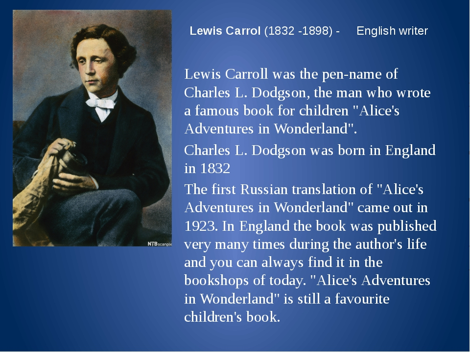 childhood memories impacts lewis carrolls writing style the most Lewis carroll is one of the most and politics had a great impact on lewis carroll's it may be perhaps carroll's fantastical style of writing.