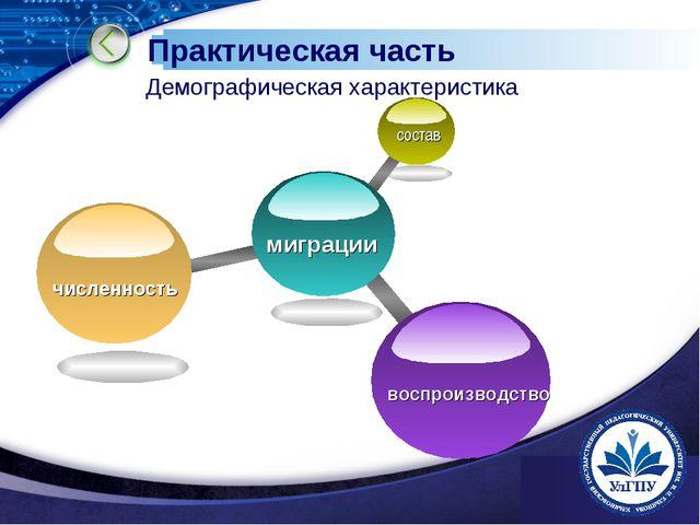 www.themegallery.com Практическая часть Демографическая характеристика www.th...