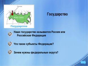 Государство Наше государство называется Россия или Российская Федерация Что т