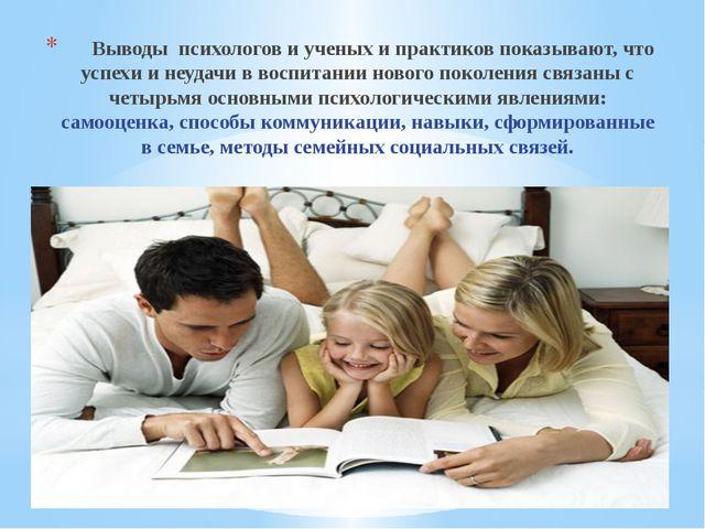 Выводы психологов и ученых и практиков показывают, что успехи и неудач...