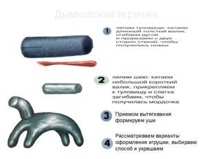 Дымковская игрушка Рассматриваем варианты оформления игрушки, выбираем способ