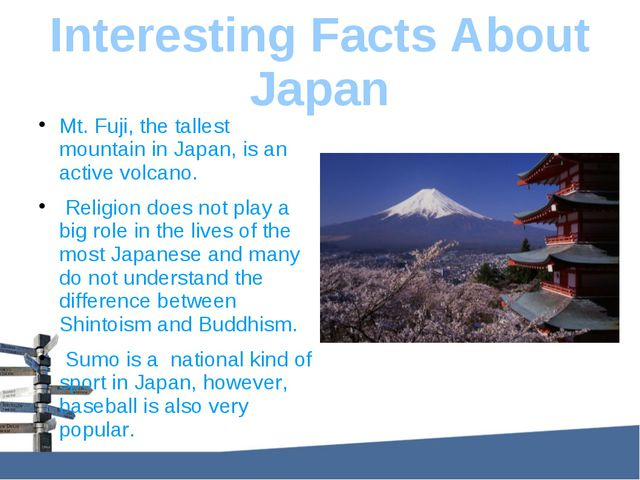 Interesting Facts About Japan Mt. Fuji, the tallest mountain in Japan, is an...
