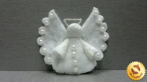 Ангел из ватных дисков главная