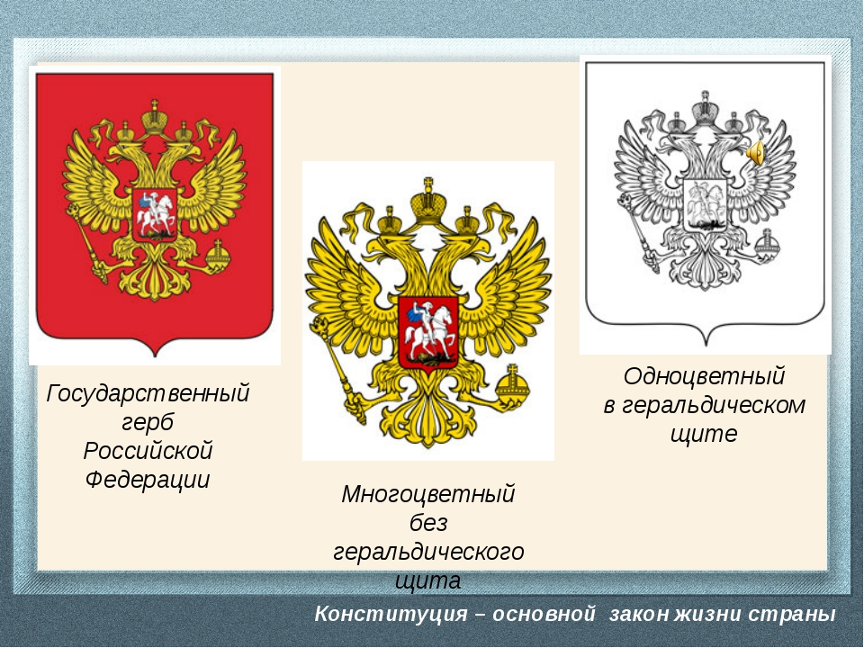 Конституция – основной закон жизни страны Собери герб и флаг Конституция – ос...