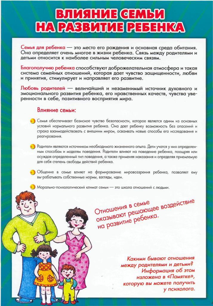 Обязанности родителей в детском саду