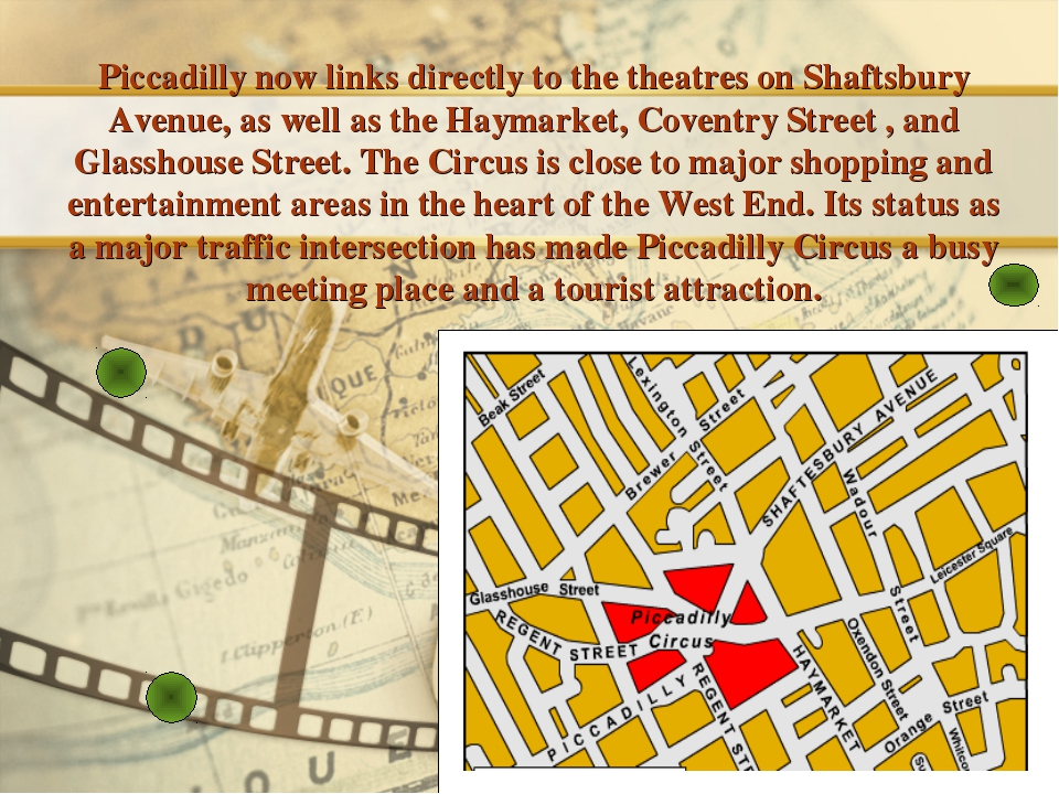 Piccadilly now links directly to the theatres on Shaftsbury Avenue, as well a...