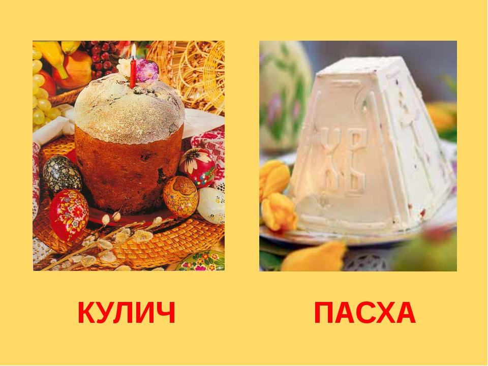 КУЛИЧ ПАСХА