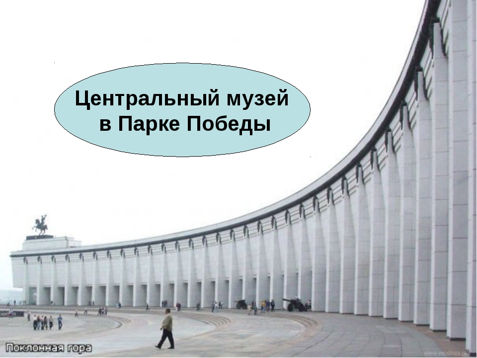 Центральный музей в Парке Победы