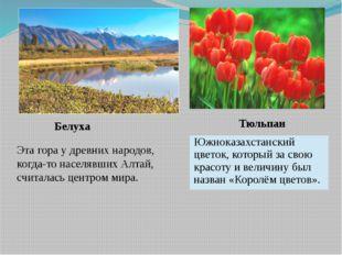 Белуха Эта гора у древних народов, когда-то населявших Алтай, считалась центр