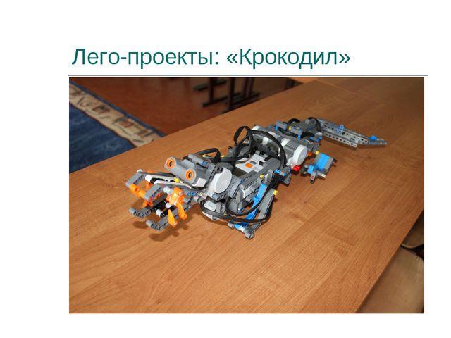 Лего-проекты: «Крокодил»