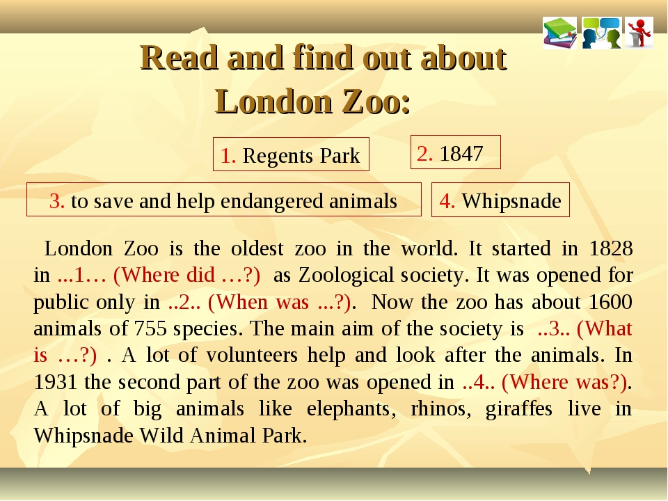Read and find out about London Zoo: London Zoo is the oldest zoo in the worl...